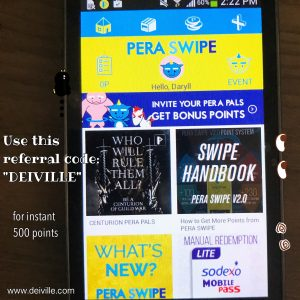 pera swipe app