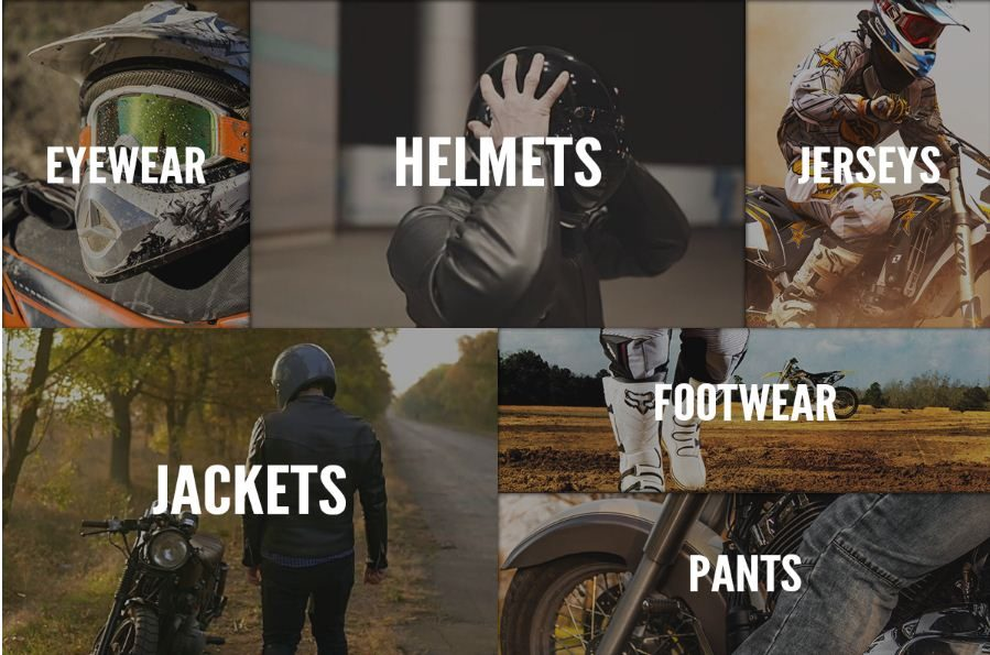 bike bandit riding gears accessories