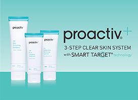 The Proactiv+ 3 Step Skin System