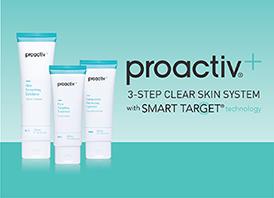 The Proactiv+ 3 Step Skin System