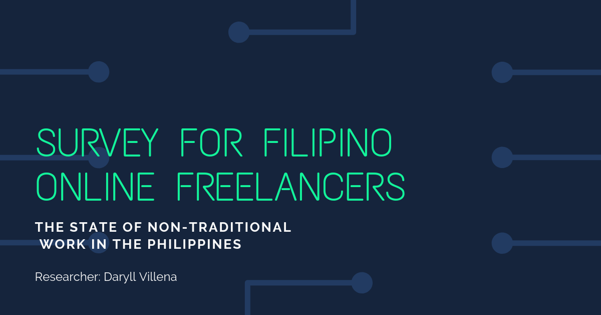 Survey for Filipino Online Freelancers
