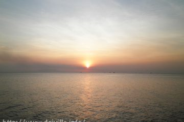 Manila Bay Sunset at Mall of Asia Seaside