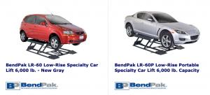 Bendpak automotive lifts