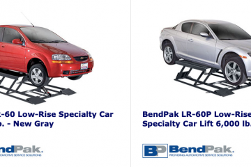 Bendpak automotive lifts