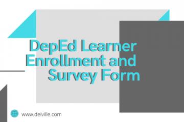 DepEd Learner Enrollment and Survey Form