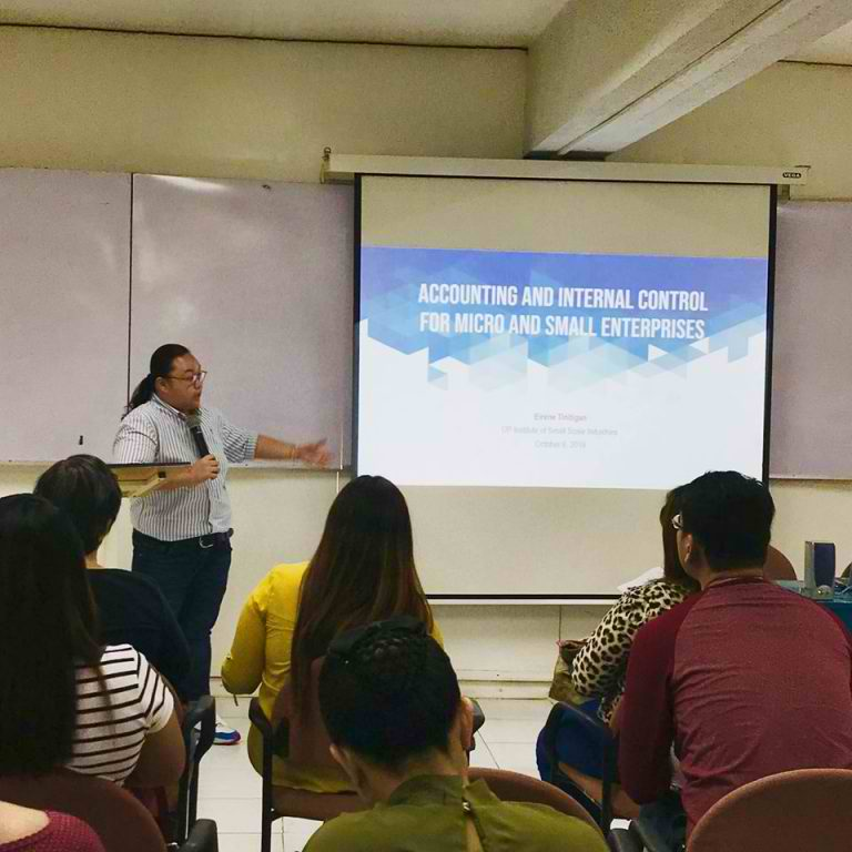 Kwentahan Tayo: Accounting Talk for MSMEs with UP ISSI and UP JPIA