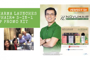ADP Pharma Launches NOVUHAIR 3-in-1 VIP PROMO KIT