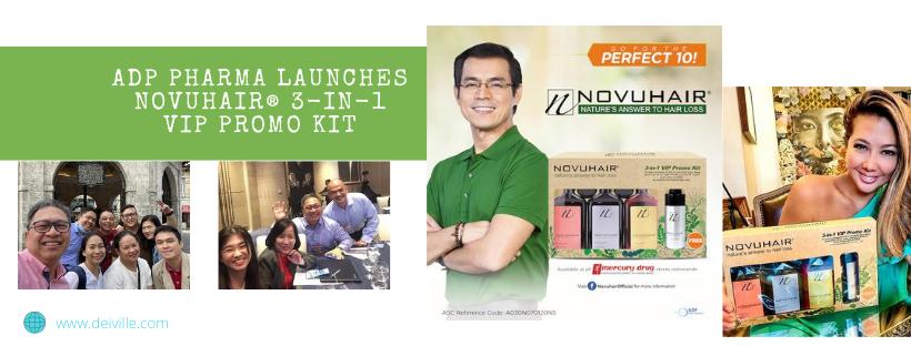 ADP Pharma Launches NOVUHAIR3-in-1 VIP PROMO KIT