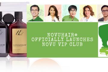 NOVUHAIR Officially Launches NOVU VIP CLUB