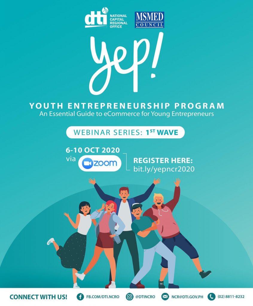 Youth Entrepreneurship Program YEP 2020