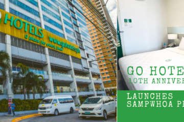 Go Hotels 10th Anniversary Launches Sampwhoa Promo