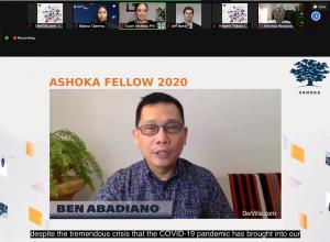 Ben Abadiano_Pamulaan Center of Indigenous Peoples Education_Changemakers Induction of Ashoka Fellows