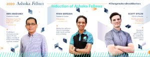 Changemakers_Induction of Ashoka Fellows