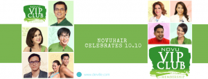 NOVUHAIR Celebrates 10.10