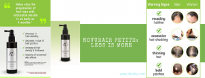 NOVUHAIR Petite_Less is more_NOVUHAIR Topical Scalp Lotion