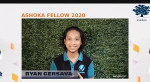 Ryan Gervasa - Virtualahan_Changemakers Induction of Ashoka Fellows