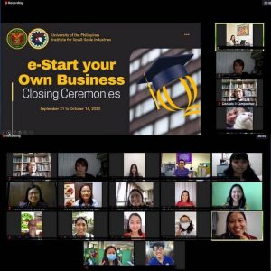 Takeaways from e-Start Your Own Business (eSYOB) Online Course_01