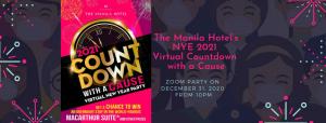 The Manila Hotel's NYE 2021 Virtual Countdown