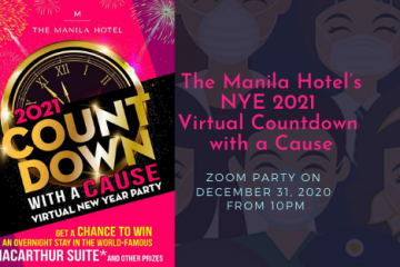 The Manila Hotel's NYE 2021 Virtual Countdown