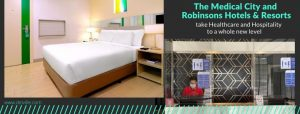 The Medical City and Robinsons Hotels & Resorts Partnership