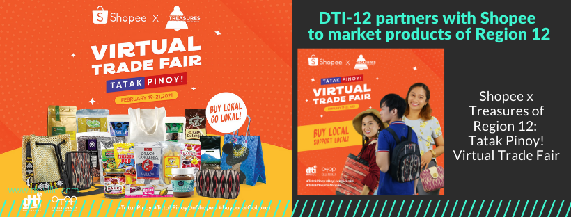 DTI-12 partners with Shopee to market products of Region 12