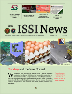 The ISSI News issue #42 front
