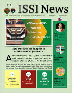 The ISSI News issue #43 front