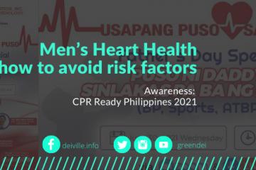 men's heart health how to avoid risk factors